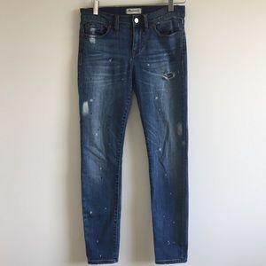 Madewell | skinny skinny jeans: painter edition 28